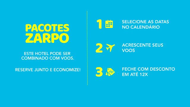 Jurerê Beach Village - Quando vendidos juntos, os hotéis e as companhias aéreas parceiros do Zarpo oferecem descontos adicionais!