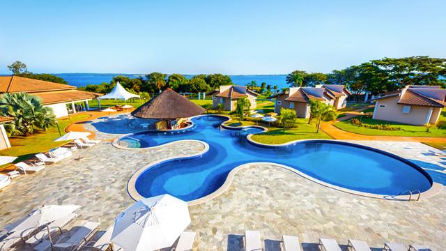 Resort da Ilha - A tranquilidade e a localização exclusiva do resort são diferenciais para dias em família.
