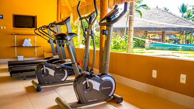 Villa dos Corais Pousada - Por fim, para quem não dispensa a rotina de exercícios, há também uma academia na pousada.